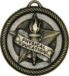 Physical Education - Value Star Medal Value Star Medallion