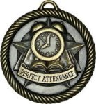 Perfect Attendance - Value Star Medal Value Star Medallion