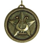 Music - Value Star Medal Value Star Medallion