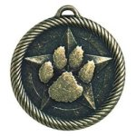 Paw Print - Value Star Medal Value Star Medallion