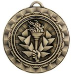 Victory Torch - Spinner Medallion Victory Award Trophies