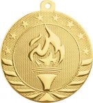 Starbrite 2.75 Medal - Victory Torch Victory Medals