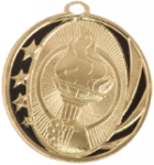 MidNite Star Medal - Victory Torch Victory Medals