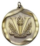 Victory Torch - Ribbon Medallion Victory Medals