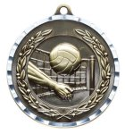 Diamond Cut Medal - Volleyball Volleyball and Throwball Award Trophies