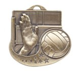 Volleyball - Star Blast Series II Medal Volleyball and Throwball Award Trophies
