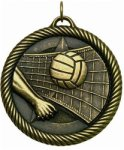 Volleyball - Value Star Medal Volleyball and Throwball Award Trophies