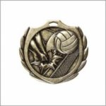 Volleyball - Burst Medal Volleyball and Throwball Medals