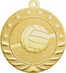 Starbrite 2 Medal - Volleyball Volleyball Medals