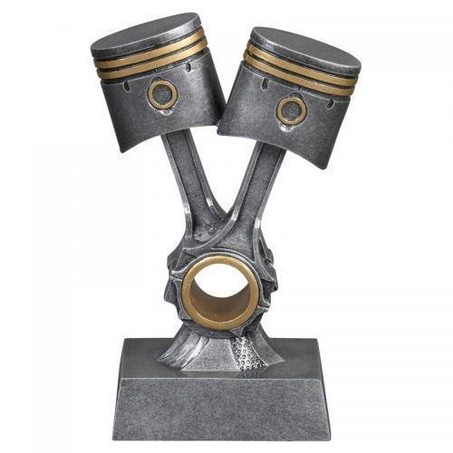 Car Show Double Piston Award Cars Cycles And Racing Award Trophies - Piston car show trophies