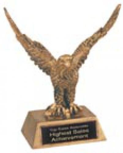Eagle - Gold Resin Trophy Eagle Scout Awards