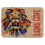 Burlap Rectangle Sublimatable Patch with Adhesive   Full Color Novelties